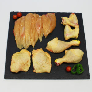 Pollastre tallat de 1'5kg